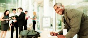 Job- und Praktikumssuche auf Berufsmessen
